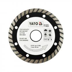 Tarcza diamentowa turbo 115mm YT-6022 YATO