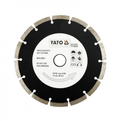 Tarcza diamentowa segmentowa 180mm YT-6004 Yato