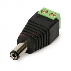 Wtyk DC 2.1/5.5 z szykozłączem na 2 zaciski E3511