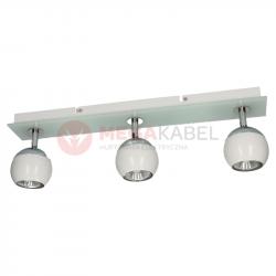 Lampa MATT-3R W/CH white-chrome GU10 3x50W Vitalux
