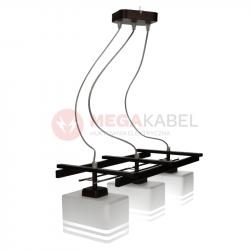 Lampa żyrandol K-2772 ŻYR III Brąz/Brokat Kaja