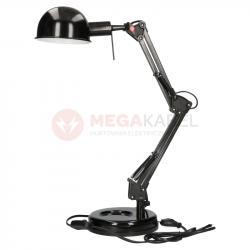 Lampka biurkowa PIXA KT-40-B czarna 19301 Kanlux