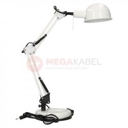 Lampka biurkowa PIXA KT-40-W biała 19300 Kanlux
