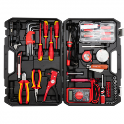 Zestaw narzędzi dla elektryków 68cz. YT-39009 Yato