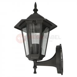 Lampa ogrodowa kinkiet K-5009A UP czarny E27 Kaja