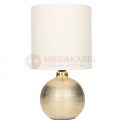 Lampka nocna PERLO gold/white E14 03291 Struhm