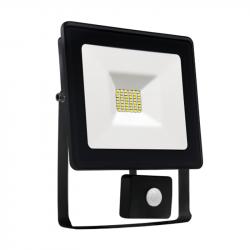 Naświetlacz LED 30W czujnik ruchu 3000K black NOCTIS SPECTRUM