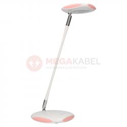 Lampka biurkowa LED K-BL1833 biało-różowa KAJA