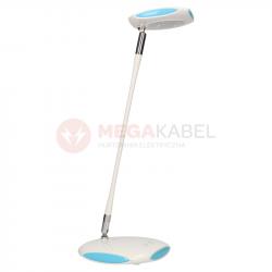 Lampka biurkowa LED K-BL1833 biało-niebieska KAJA