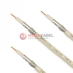 Przewód koncentryk YWDXpek RG-6 75-1,0/4,8 biały