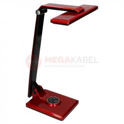 Lampka biurkowa LED K-BL1203 10W czerwona Kaja