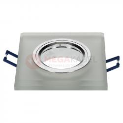 Oczko sufitowe INGLES matowe szkło kwadrat LL3746