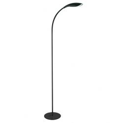 Lampa podłogowa LED SWAN czarna 6,5W 306050 Polux