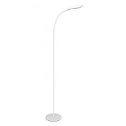 Lampa podłogowa LED SWAN biała 6,5W 306043 Polux