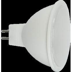 Żarówka LED MR16 4,3W 230V zimna AL+PC LL2091