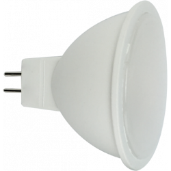 Żarówka LED MR16 4,3W 230V ciepła AL+PC LL2060