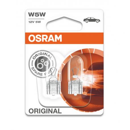 Żarówka W5W 12V 5W (op.2szt) W2.1x9 Osram