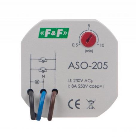 Automat schodowy 1Z/0R 0P 10A ASO-205 F&F