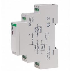 Przekaźnik bistabilny BIS-412 16A 230V AC 1P F&F