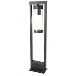 Lampa ogrodowa SPECTRA słupek 50cm czarna E27 Polu
