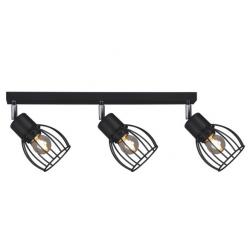Lampa plafon K-4566 III czarny STR Kubek Kaja