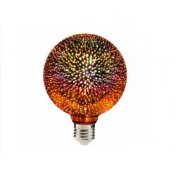 Żarówka LED Deco EFEKT 3D E27 G95 3,5W 308856 Polu