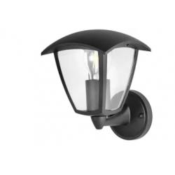 Lampa ogrodowa kinkiet góra IGMA 311863 E27 czarny