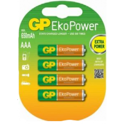 Akumulatorki GP EkoPower 1.2V 630mAh (op.4szt.)