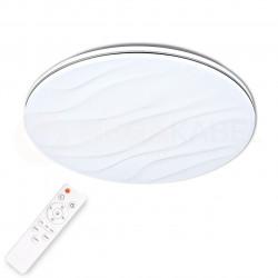 Plafon LED DESERT 24W 40cm stary efect+pilo 310798