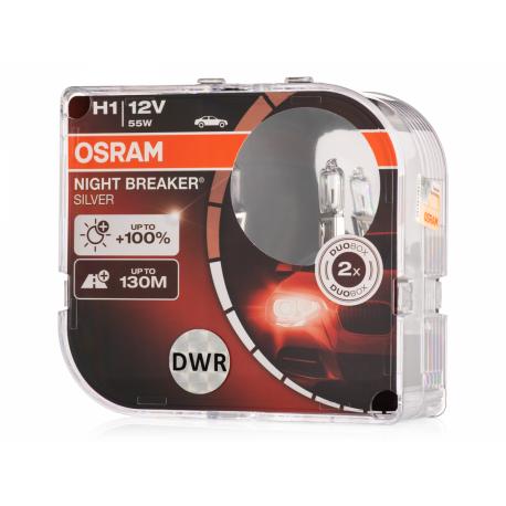 Żarówka H7 12V 55W Night Breaker Silver OSRAM 1szt
