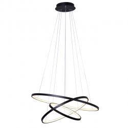 Lampa wisząca GALASSIA-800 Black LED 90W Vitalux