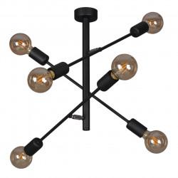 Lampa plafon CAMARA K-4754 VI industrialna 6xE27 KAJA
