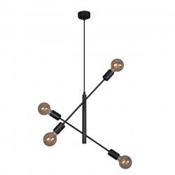 Lampa CAMARA K-4750 IV czarna wisząca E27 Kaja