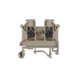 Złączka szynowa 2-przewodowa 2,5mm2 szara ZSG 1-2.5Ns SIMET