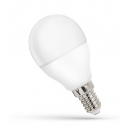 Żarówka LED kulka E14 230V 8W ciepła WW SPECTRUM