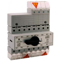 Przełącznik wyboru sieć-agregat 4P 63A PRZ-4063 SPAMEL