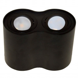 Lampa sufitowa SIROCO II black n/t alu. GU10 BOWI
