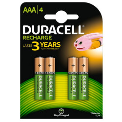 Akumulatorki HR03 AAA 750mAh op.4szt DURACELL