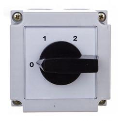 Łącznik krzywkowy 0-1-2 2P 10A 4G10-252-PK APATOR