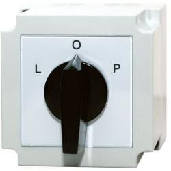 Łącznik krzywkowy L-P 3P 40A w obudowie 4G40-11-PK IP55 APATOR