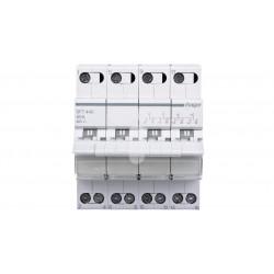 Przełącznik modułowy sieć/agregat I-0-II 4P 40A SFT440 HAGER
