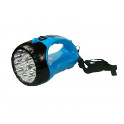 Latarka akumulatorowa ręczna 15 niebieska YJ-2832 15LED BOWI