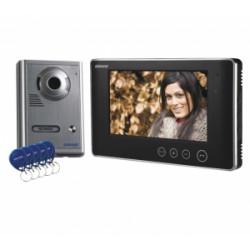 Zestaw wideodom. LCD 7'' kol z czyt. brel. VP-1009
